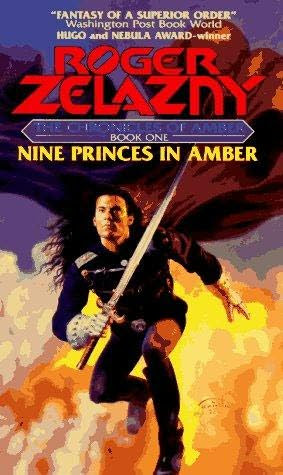 book cover of   Nine Princes in Amber