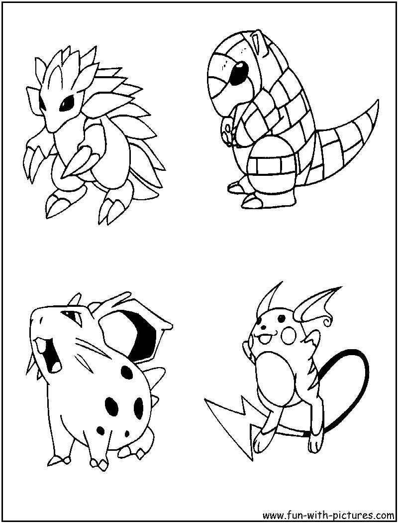 Belle Jeux De Coloriage Pokemon Gratuit | Imprimer et ...