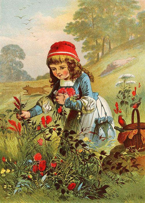 Carl Offterdinger. Красная Шапочка / Little Red Riding Hood