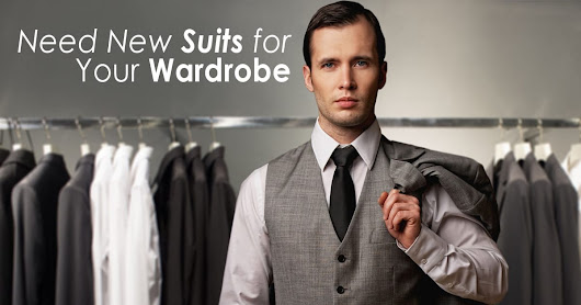 New Suits for Your wardrobe needed