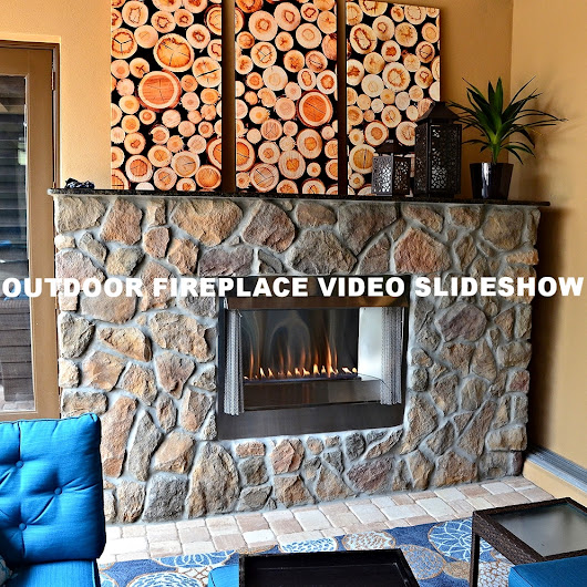 Outdoor Fireplace Video Slideshow