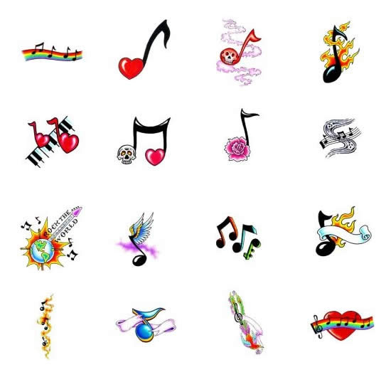 Musical Note Tattoos What Do They Mean Tattoos Designs Symbols
