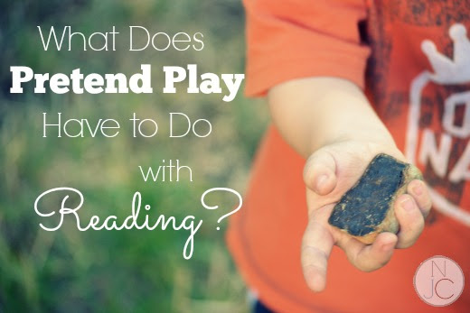 Why Play Pretend When We're Trying to Build Readers? | Not Just Cute