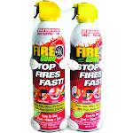 Fire Gone 2 FG 7209 Fire Suppressants with Bracket 2 Pk