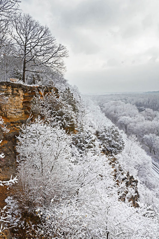 Snowy Bluffs In Castlewood | CastlewoodMO.com