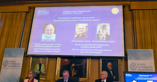 Nobel Prize in Physics Awarded to U.S., French and Canadian Scientists