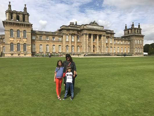 Knights, Jesters and Churchill at Blenheim Palace - Californian Mum in London