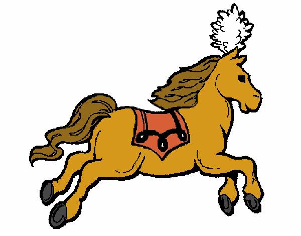 Dibujo De Caballo Corriendo Pintado Por Charlycar En Dibujosnet El