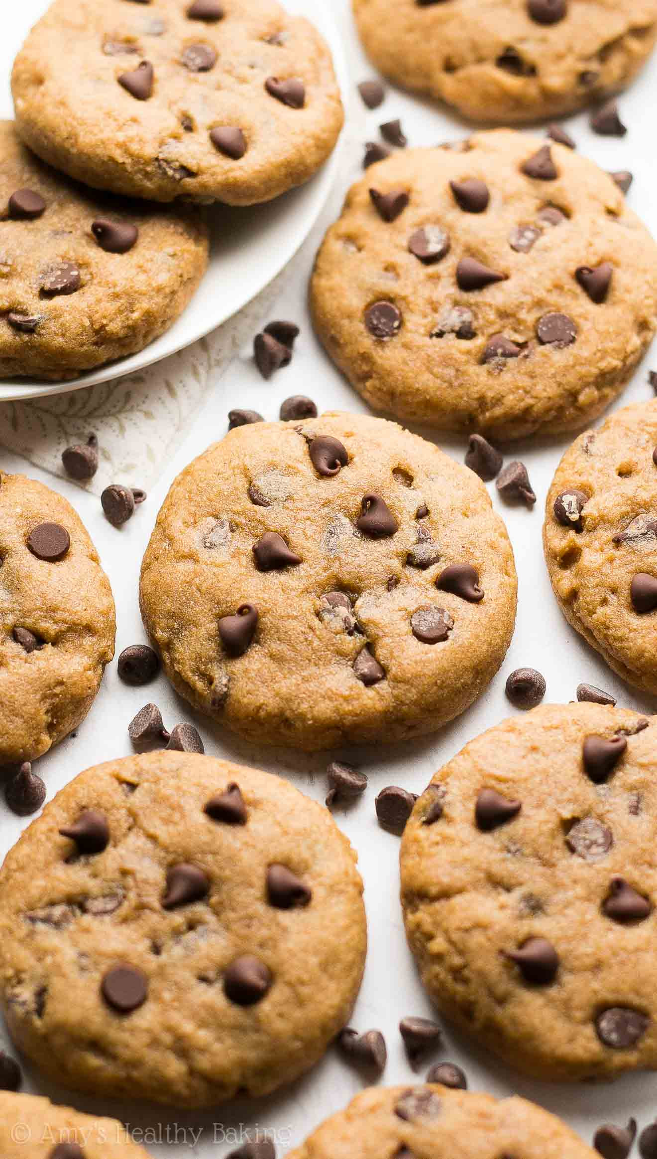 Healthy Banana Chocolate Chip Cookies {Recipe Video ...