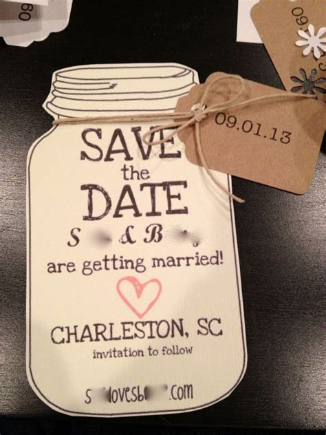 Southern Save the Dates!   Weddingbee Photo Gallery