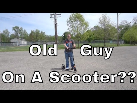 A Scooter for Adults?? Ancheer Kick Scooter