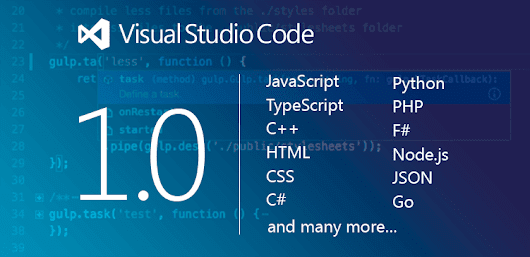 Microsoft's Visual Studio Code reaches its 1.0 release