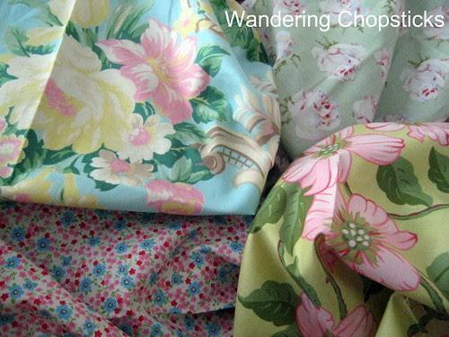 Frowsy Flowery Quilt 7