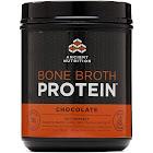 Ancient Nutrition Protein Bone Broth, Chocolate - 17.8 oz tub