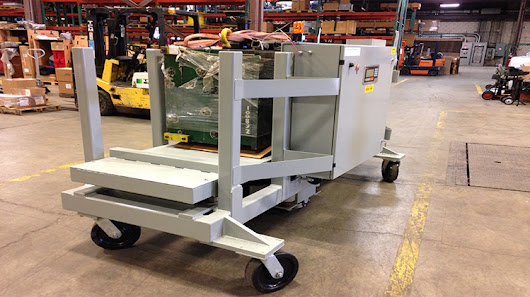 Motorized Carts - Material Handling Electro Kinetic Technologies