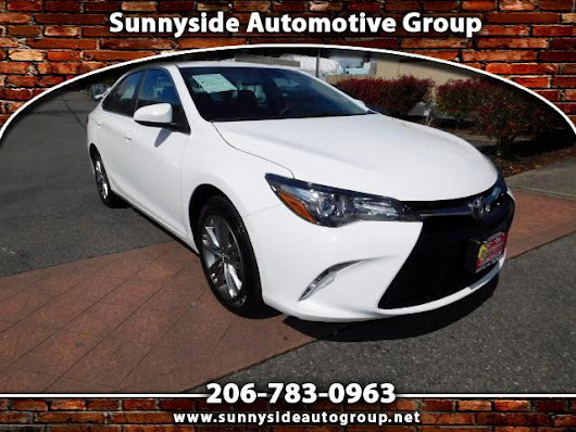 Used 2017 Toyota Camry SE for Sale in Seattle WA 98133 Sunnyside Automotive Group