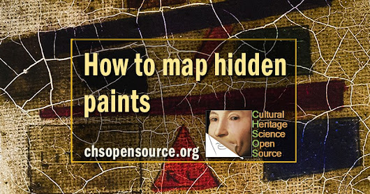 Map and identify hidden paints with Transmittance Multispectral Imaging