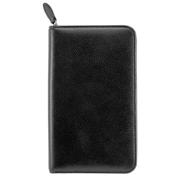 Day-Timer Armorhide Leather Zippered Planner Cover Pocket Size (4846)