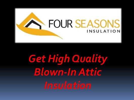 Hire Supreme Services for Blown-In Attic Insulation