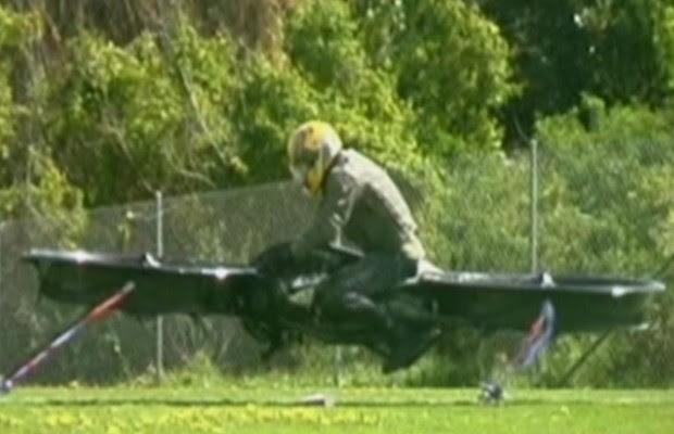 Engenheiros contam que o protótipo realiza muitas das funções que hoje são feitas por um helicóptero. (Foto: BBC)