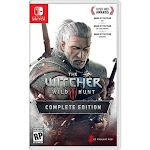 Warner Brothers 1000746532 The Witcher 3-Wild Hunt -Complete Edition Nintendo Switch Game