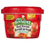 Chef Boyardee Beef Ravioli, 12ct 12 x 7.5 oz.
