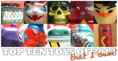 Best Toys 2012 : Top art toys for that i own