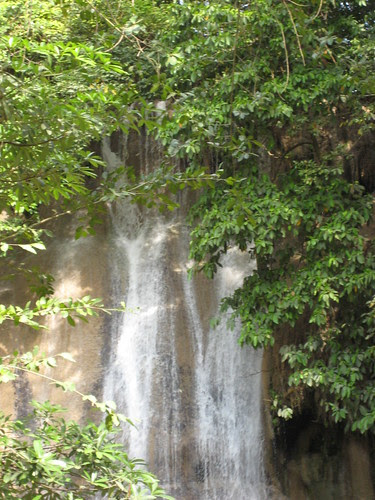Waterfall at Nam Tok Sai Yok Noi