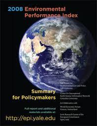 Environmental Performance Index 2008