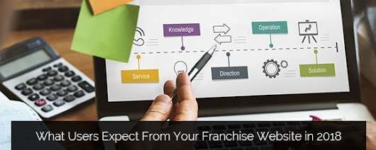 What Users Expect From Your Franchise Website in 2018 - Clicktecs