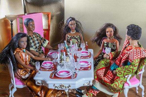 barbie ken nigerian wedding