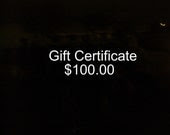 WireQueen One Hundred Dollar Gift Certificate