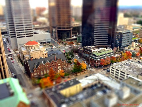 downtowntiltshift by Seattle Daily Photo