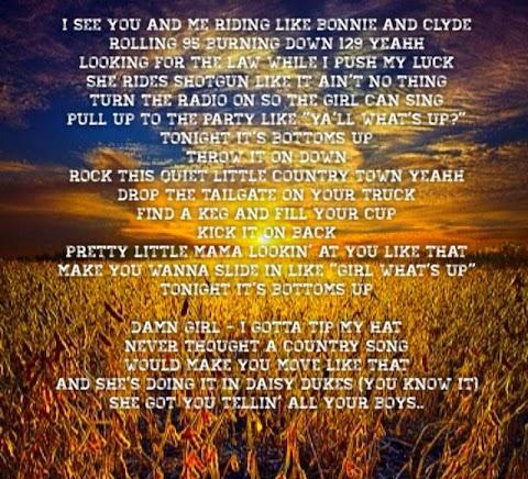 Brantley Gilbert Bottoms Up Lyrics