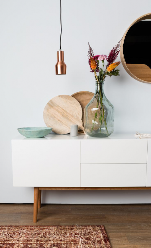 Chicdeco blog | Credenza / Sideboard Styling