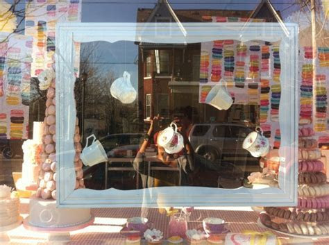 PROJECTS: LE DOLCI SPRING WINDOW DISPLAY   Singhnature