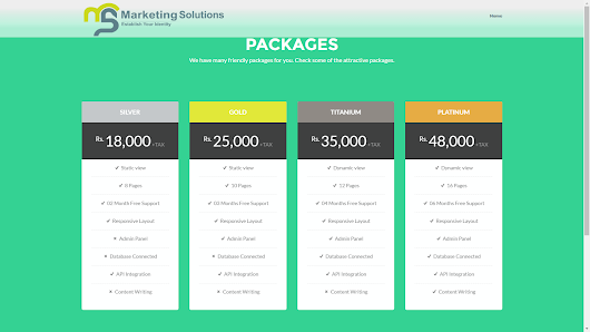 Marketing Solutions Web&App Design|SEO|Branded sms in Pakistan