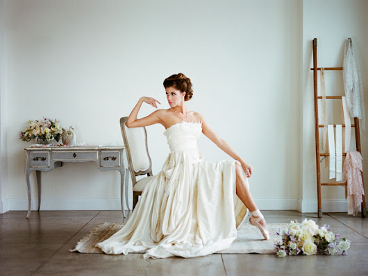 Ethereal Ballet Wedding Inspiration
