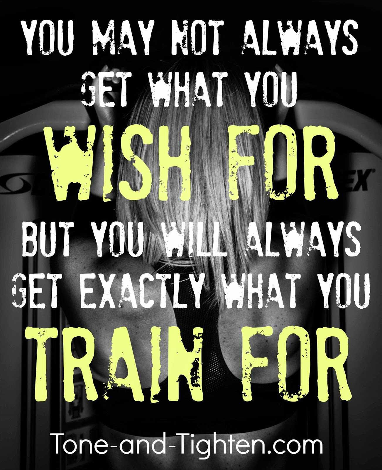 Fitness Motivation - You Will Always Get What You Train ...
