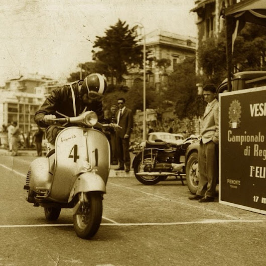 Vespa GS Racer - Old Scoot