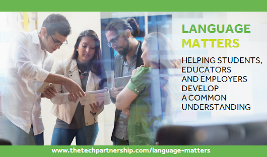 New 'Language Matters' publication - A common language for IT-related education and careers | The Tech Partnership