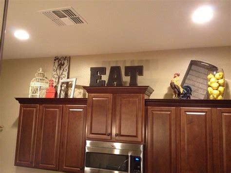 cabinet decor kitchen decorations decorating