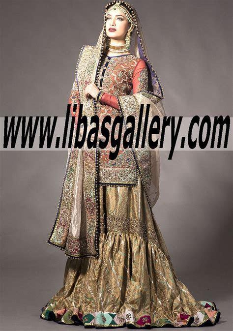 113 best Pakistani Designers wedding gharara, bridal