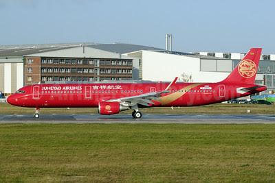 Juneyao Airlines Airbus A321-211 WL D-AVZU (B-1808) (msn 5876) (Sharklets) XFW (Gerd Beilfuss). Image: 921054.