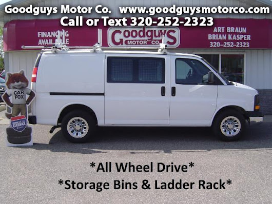 Used 2012 Chevrolet Express 1500 AWD Cargo for Sale in st cloud MN 56301 Goodguys Motor Co.