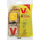 Victor Mouse Traps, Easy Set - 4 traps