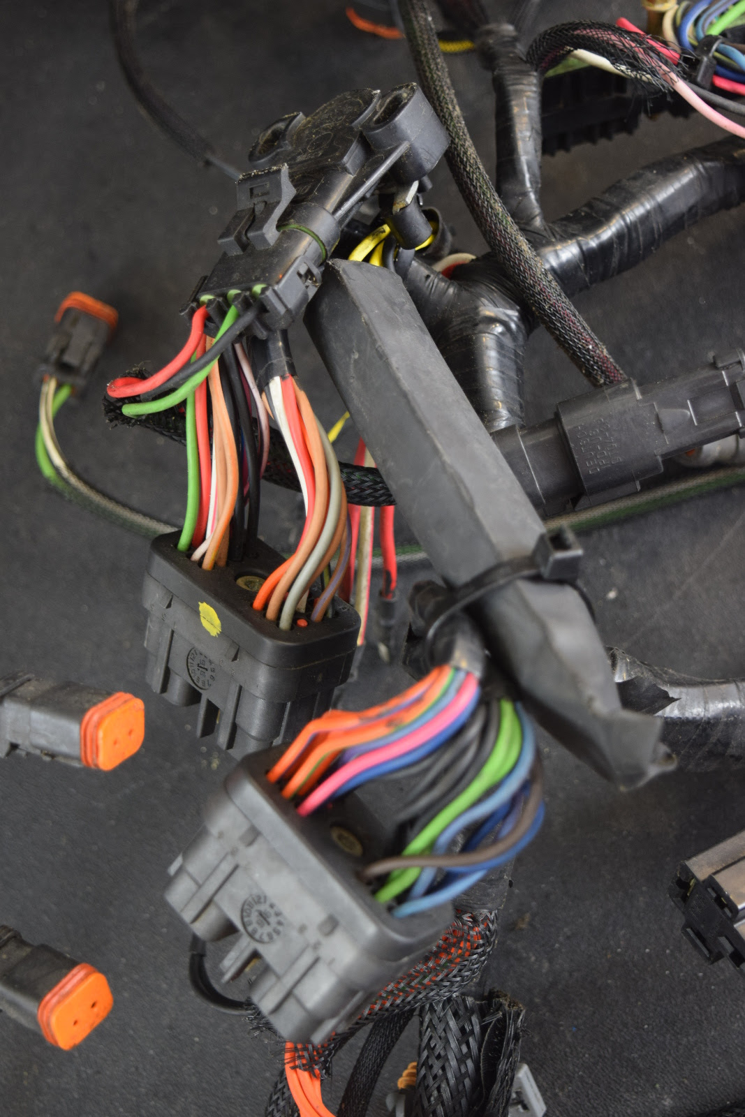 1997-1998 Johnson Evinrude Motor Cable Engine Harness ...