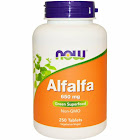 Now Foods Alfalfa 650 mg - 250 Tablets