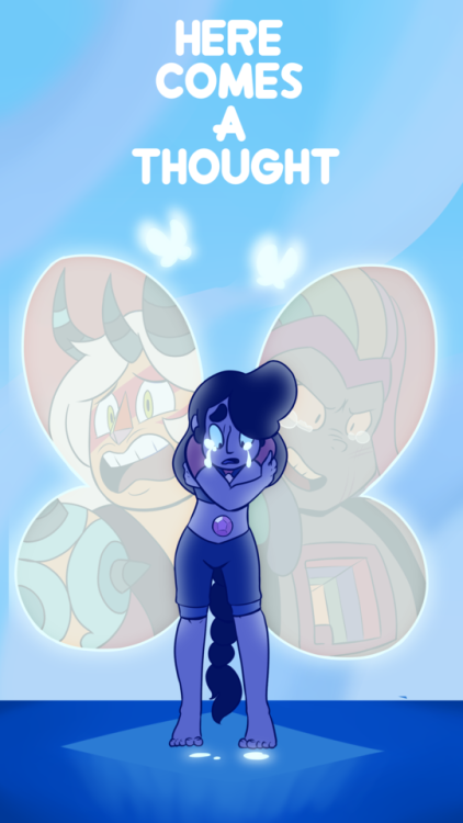 Here comes a thought poster guh, this took forever, i hate drawing SU bgs