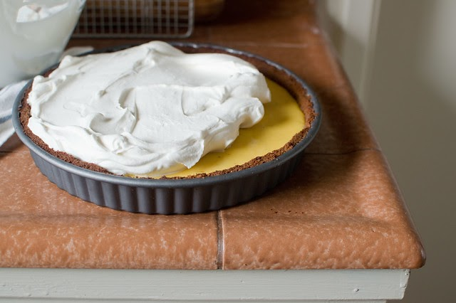 Heart of Light: Key lime tart with gingersnap crust
